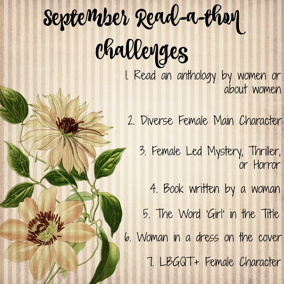 September Read-a-thon Challenges