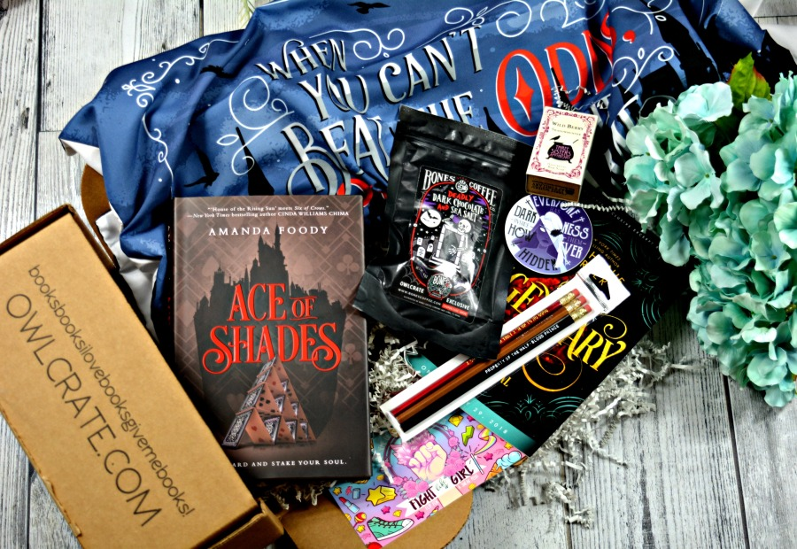 OwlCrate April Unboxing